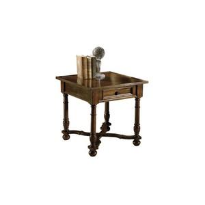 Tuscan Estates Square Lamp Table