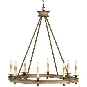 Bonfire Chandelier | Currey & Company