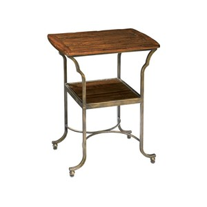 Rue de Bac Metal Base Side Table