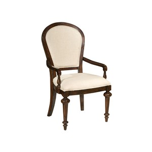 Charleston Place Oval Back Arm Chair | Hekman
