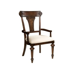 Charleston Place Panel Back Arm Chair
