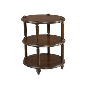 Charleston Place Round 3-Tier Lamp Table | Hekman