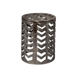 Chevron Garden Stool