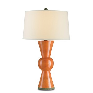 Orange Upbeat Table Lamp | Currey & Company