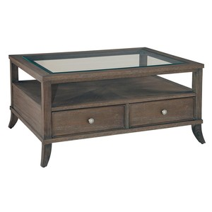 Urban Retreat Coffee Table with Drawers | Hekman
