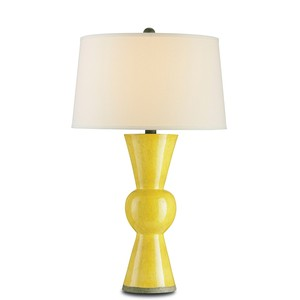 Yellow Upbeat Table Lamp