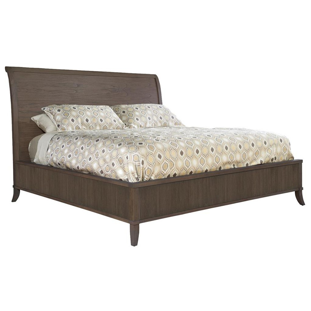 Urban Retreat King Wood Sleigh Bed | Hekman