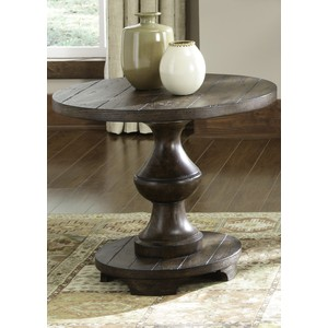 Spanish Planked End Table | Liberty Furniture