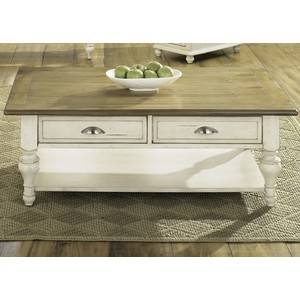 Country Cottage Rectangular Cocktail Table