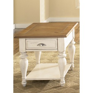 Country Cottage Rectangular End Table | Liberty Furniture