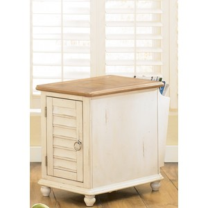 Country Cottage Shutter Door Side Table | Liberty Furniture