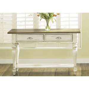 Country Cottage Two Drawer Sofa Table | Liberty Furniture