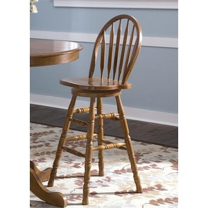 "30"" Arrow Back Barstool 
