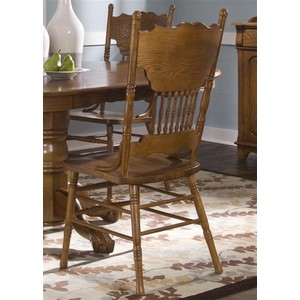 Double Press Back Side Chair | Liberty Furniture