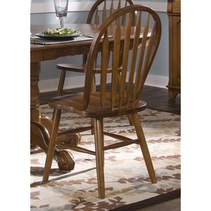 Arrow Back Windsor Side Chair | Liberty Furniture