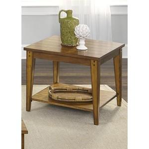 Square Lamp Table   Liberty Furniture