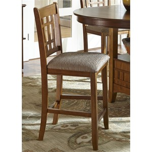 "24"" Misson Barstool 