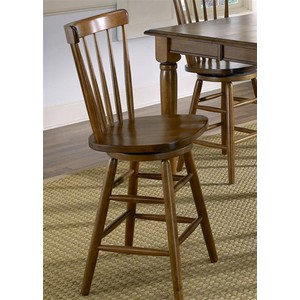 "24"" Copenhagen Barstool in Tobacco 