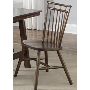 Spindle Back Side Chair | Liberty Furniture