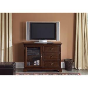 "44"" Cherry TV Console | Liberty Furniture"