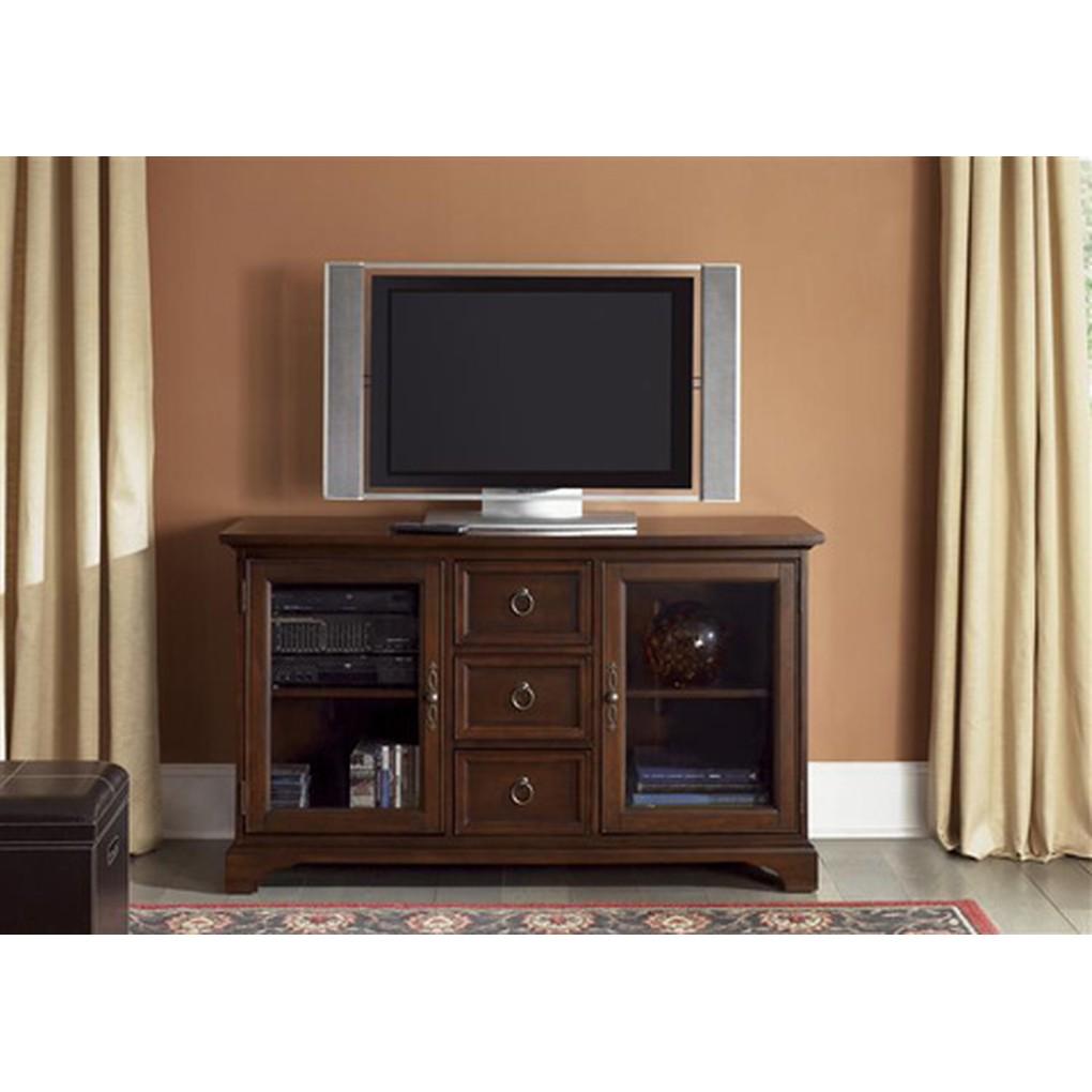 "54"" Cherry TV Console   Liberty Furniture"