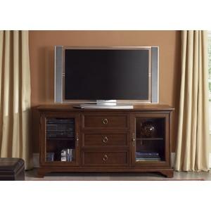 "64"" Cherry TV Console | Liberty Furniture"