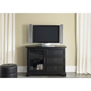 "44"" Black TV Console 