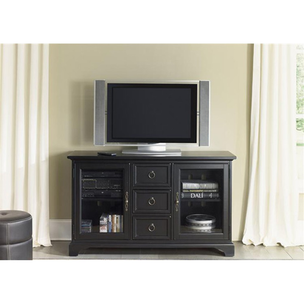 "54"" Black TV Console | Liberty Furniture"
