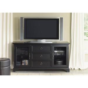 "64"" Black TV Console | Liberty Furniture"