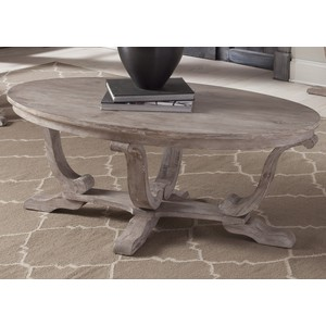 Oval Cocktail Table   Liberty Furniture