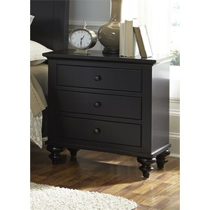 Three Drawer Nightstand | Liberty Furniture