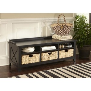 Cubby Storage Bench | Liberty Furniture