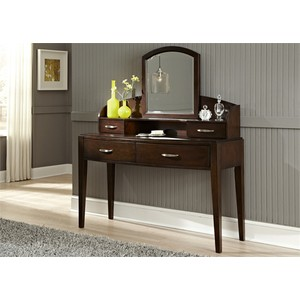 Desk with Hutch and Mirror | Liberty Furniture