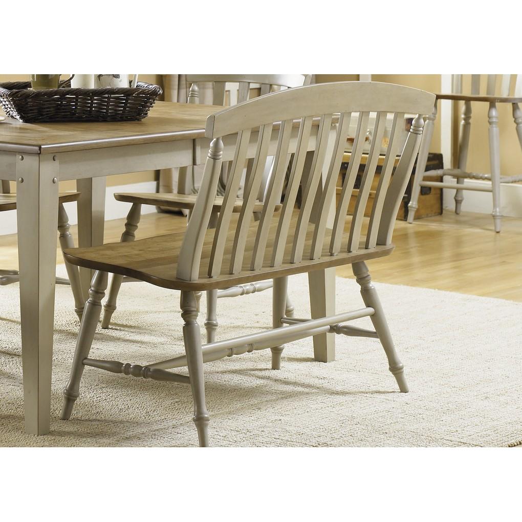 Slat Back Bench   Liberty Furniture