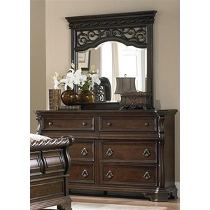 Eight Drawer Double Dresser