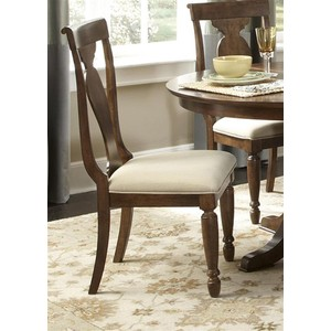 Splat Back Side Chair | Liberty Furniture