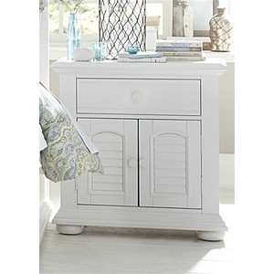 Two Door One Drawer Nightstand | Liberty Furniture