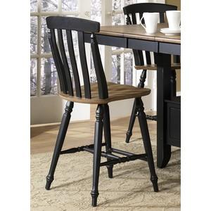 Slat Back Counter Chair | Liberty Furniture