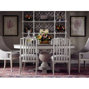 Marshall Side Chair in Orchid | Stanley Furniture