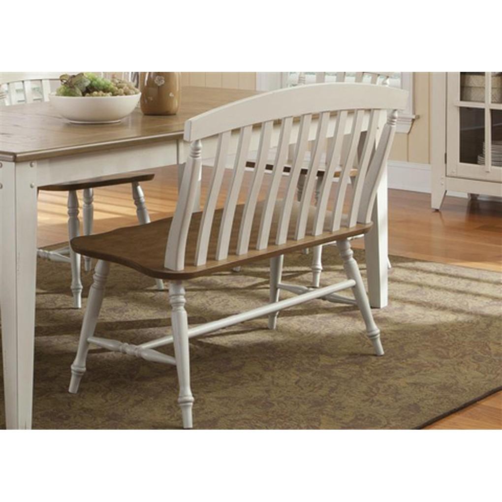 Slat Back Bench | Liberty Furniture