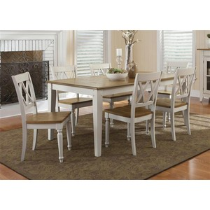 Rectangular Leg Dining Table | Liberty Furniture