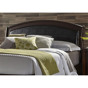 Queen Platform Leather Headboard