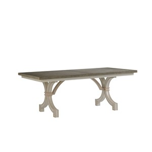 St. Helena Trestle Table in Orchid