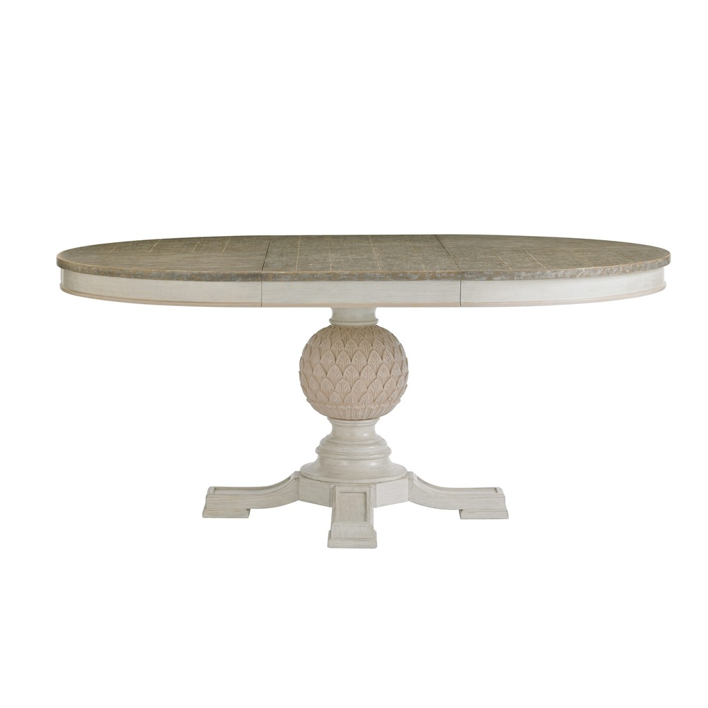 Artichoke Pedestal Dining Table in Orchid   Stanley Furniture