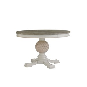 Artichoke Pedestal Dining Table in Orchid