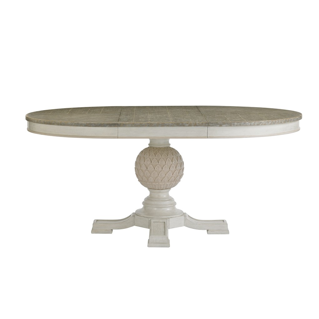 Artichoke Pedestal Dining Table in Orchid | Stanley Furniture