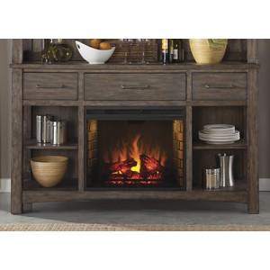 Buffet with Fireplace | Liberty Furniture