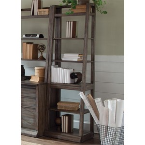 Leaning Bookcase | Liberty Furniture