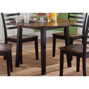 Round Fixed Top Dining Table