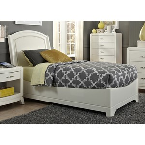 Full Leather Bed | Liberty Furniture